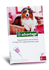 Advantage Spot On Flea Treatment
