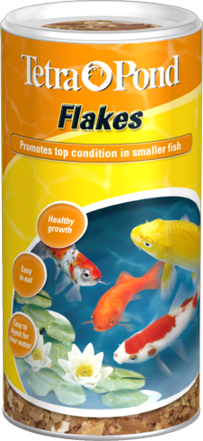 Tetra pond flakes fish food for Fish food flakes