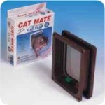 PetMate (CatMate) 4 Way Locking Cat Flap with Liner