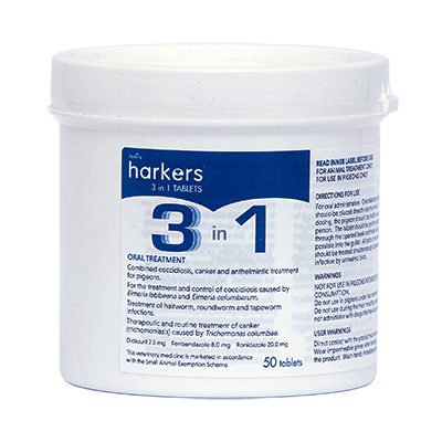 Harkers 3 in One Tablets