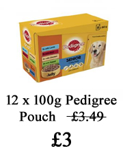 pedigree pouch offer