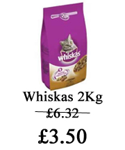 whiskas cat offer
