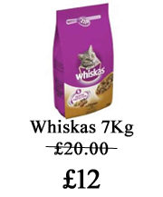 whiskas food offer
