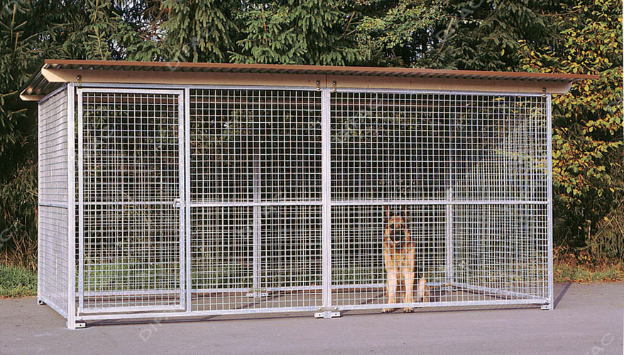 galvanised kennel panels