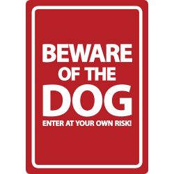 Dog Warning Signs