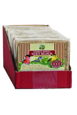 Wild Bird Suet Block With Mealworms